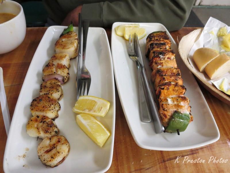 SeaBaron salmon & scallops