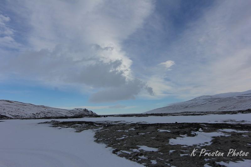 Hallmundarhraun Lava Field