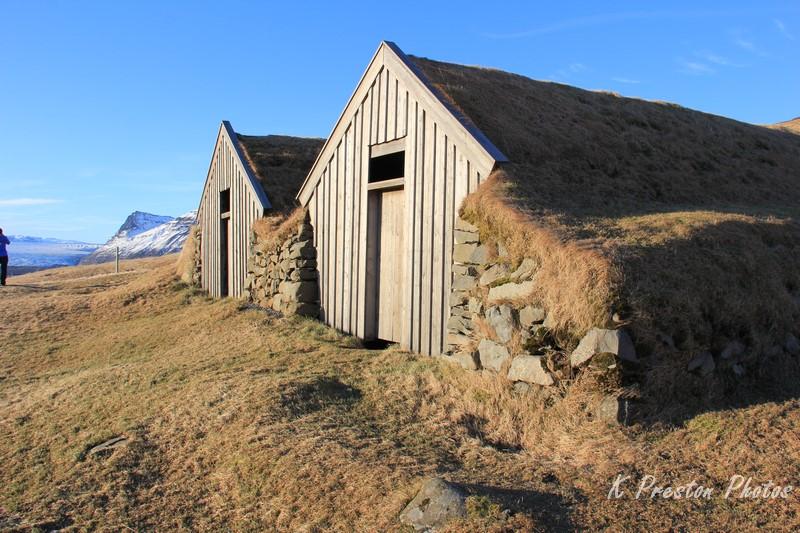 Typical Icelandic Farmhouse heading west to Reykjavik